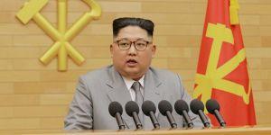 Kim'den yeni yıl mesajında ABD'ye tehdit: Nükleer düğme masamda