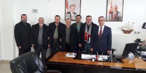 İHH'dan Başkan Nafiz Solak'a ziyaret