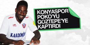 Atiker Konyaspor Poko'yu kaptırdı