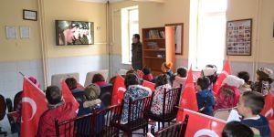 Minik öğrencilerden Zeytin Dalı Harekatı'na destek