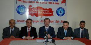 Türk Eğitim-Sen`den  eylem kararı açıklaması