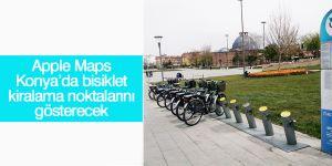 Apple Maps Konya'da bisiklet kiralama noktalarını gösterecek