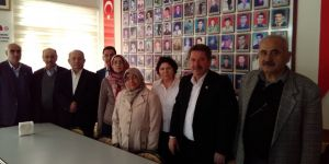 İYİ Parti Meram'dan şehit ailelerine ziyaret