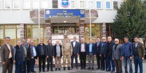 Konya basınından Mehmetçik'e destek ziyareti