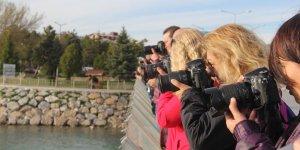 Kadın fotoğrafçılar Beyşehir'i fotoğrafladı