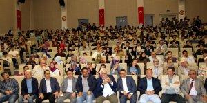 Yavuz Bahadıroğlu, Seydişehir'de konferans verdi