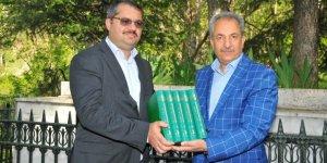 Azeri Büyükelçi Hazar İbrahim'den Akşehir'e ziyaret