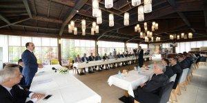 Başkan Altay oda başkanları ile buluştu