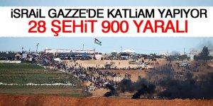 İsrail askerleri ateş açtı: 28 şehit!