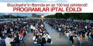 Konya Büyükşehir Belediyesi'nin iftarında halk zehirlendi