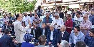 Başkan Altay Bedesten Esnafı ile buluştu