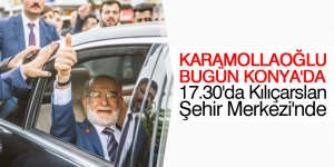 Karamollaoğlu bugün Konya'da
