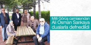 Ali Osman Sarıkaya dualarla defnedildi