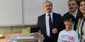 AK Parti Genel Başkan Yardımcısı Sorgun oyunu kullandı