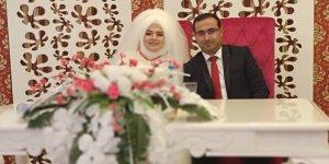 Züleyha Önal'ın kardeşi evlendi