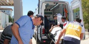 Konya'da kamyonun yakıt deposu patladı: 1 ağır yaralı