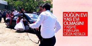 Konya'da düğünde silahla ateş açanlara ceza yağdı