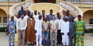 Cansuyu Benin'e yardım eli uzattı