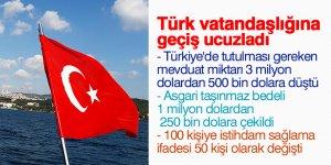 Türk vatandaşlığına geçiş ucuzladı
