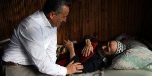 Başkan Tutal, yaşlı çifti ziyaret etti
