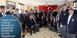 Başkan Altay: Bayrağımız gazilerimiz sayesinde gururla dalgalanıyor