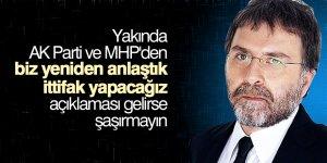 Ahmet Hakan'dan ittifak yazısı