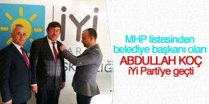 Doğanhisar Belediyesi İYİ Parti'ye geçti