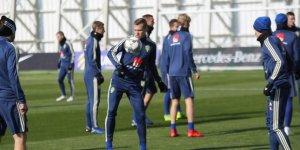 İsveç, Türkiye maçı hazırlıklarını tamamladı