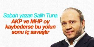 Sabah yazarı: AKP ve MHP oy kaybederse bu yolun sonu iç savaştır