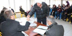 Beyşehir'de kurayla gelen iş sevinci