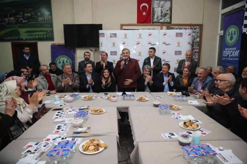 """Beykoz Belediye Başkan Adayı Murat Aydın: """"Beykoz'da zengin,fakir ayrımını ortadan kaldırmak istiyoruz"""""""