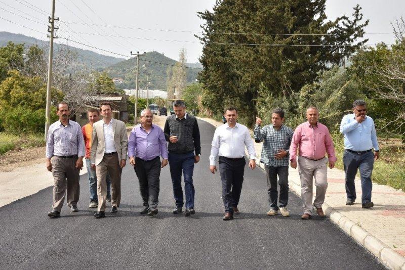 Alanya Belediyesi 5 yılda 1000 kilometre asfalt yaptı