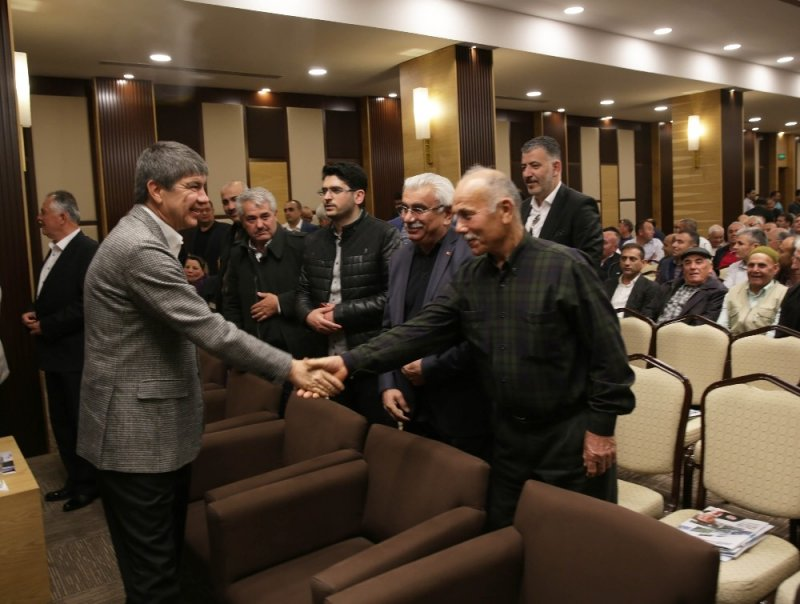 Başkan Türel, otobüs ve taksicilerle buluştu