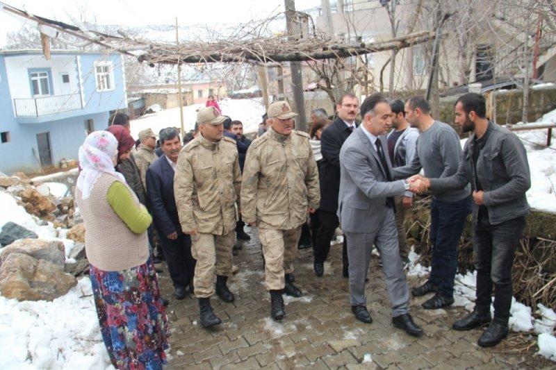 Vali Çağatay'dan Zeytin Dalı gazisine ziyaret