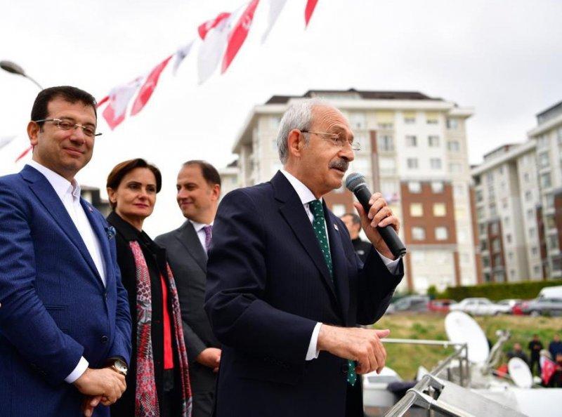 """CHP Genel Başkanı Kılıçdaroğlu, """"Bizim bir gözbebeğimiz var o da Ekrem İmamoğlu, gidin ona oy verin"""""""