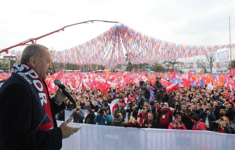 """Cumhurbaşkanı Erdoğan: """"Milli İradenin tecelli ettiği yer sandıktır. Tüm vatandaşlarımı Pazar günü sandığa gitmeye davet ediyorum"""""""