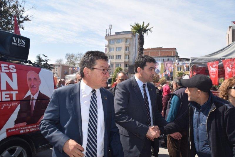 Gültekin Uysal Mustafakemalpaşa'da