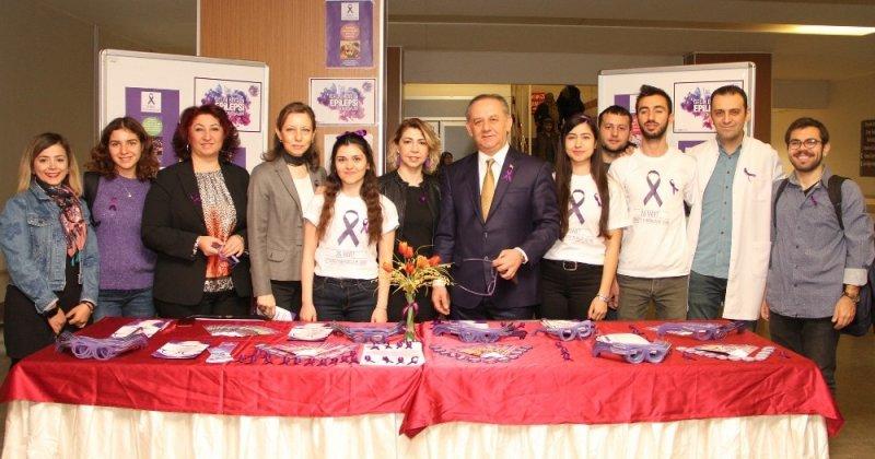 ESOGÜ Hastanesi'nde epilepsi bilgilendirme standı açıldı