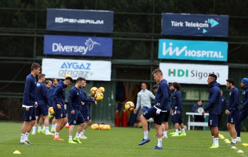 Fenerbahçe, MKE Ankaragücü hazırlıklarını sürdürdü