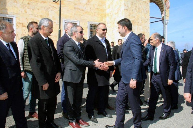 Çevre ve Şehircilik Bakanı Murat Kurum Giresun'la ilgili projeleri değerlendirdi