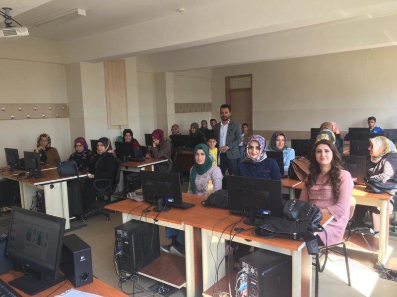 Kahta'da işaret dili kursuna yoğun ilgi