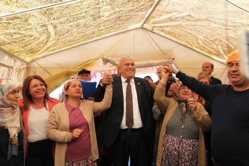 CHP'li Fatih Atay, Kızılcaköylülerle buluştu