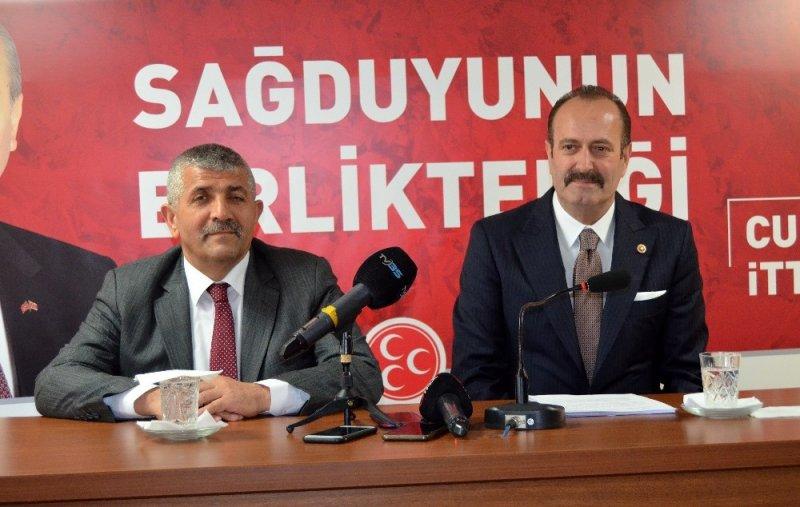 """MHP'li Osmanağaoğlu: """"Atatürk'ün kurtardığı İzmir, Kılıçdaroğlu tarafından düşmana teslim ediliyor"""""""