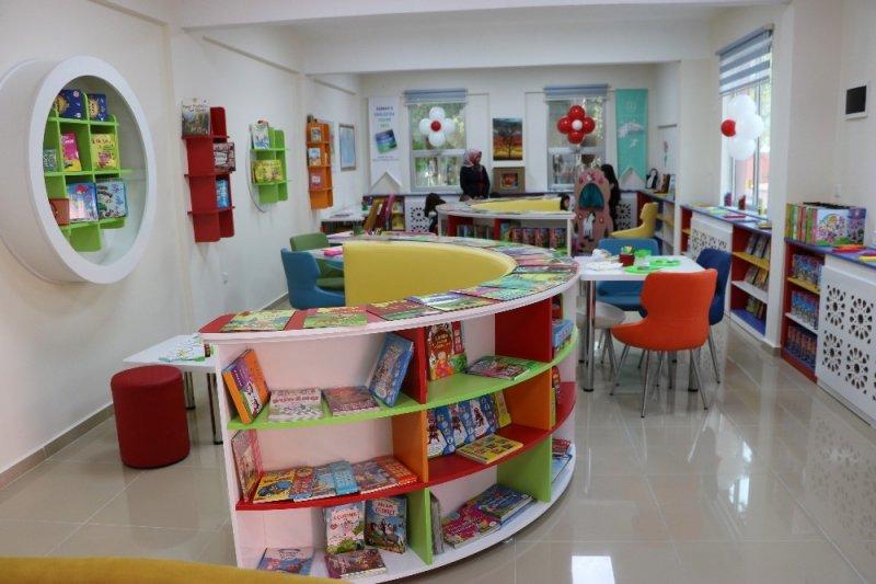 KOP okul öncesi Kütüphane ve Eğitim Merkezi açıldı