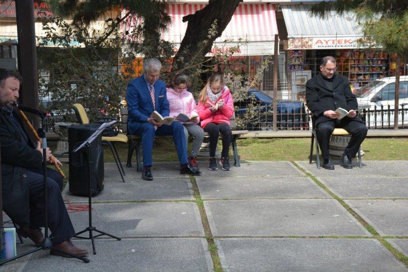 Sinop'ta kitap okuma etkinliği