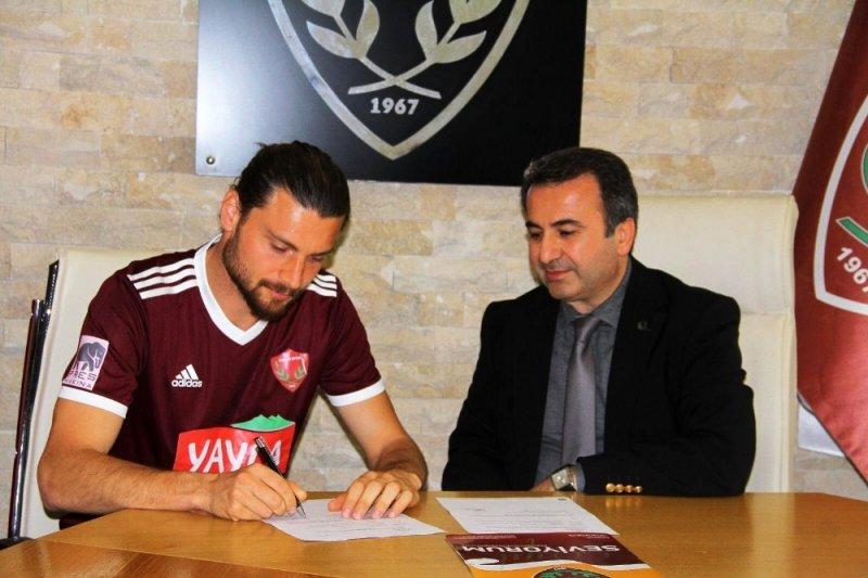Hatayspor, Sadi ve Hamza ile 2 yıllık sözleşme yeniledi