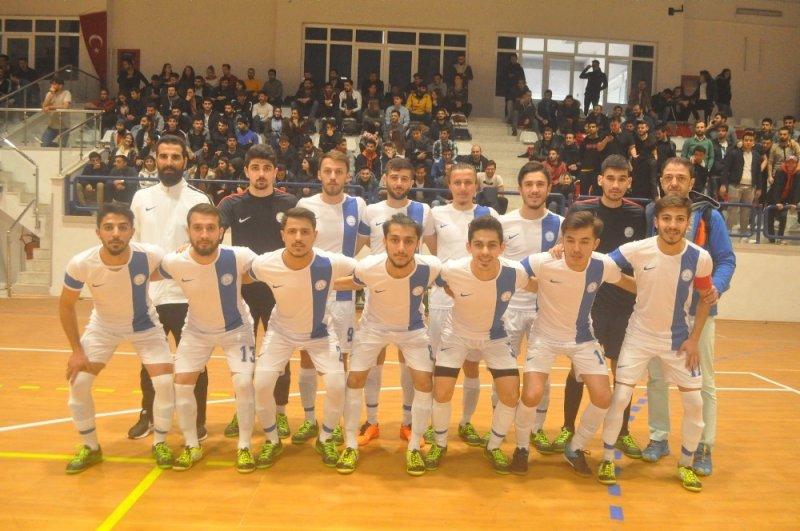 Üniversitelerarası 2. Lig Futsal heyecanı