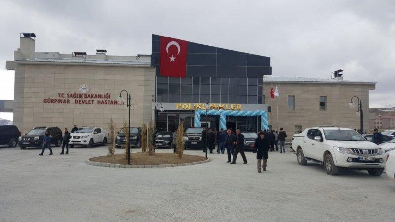 Gürpınar Devlet Hastanesi hizmete açıldı