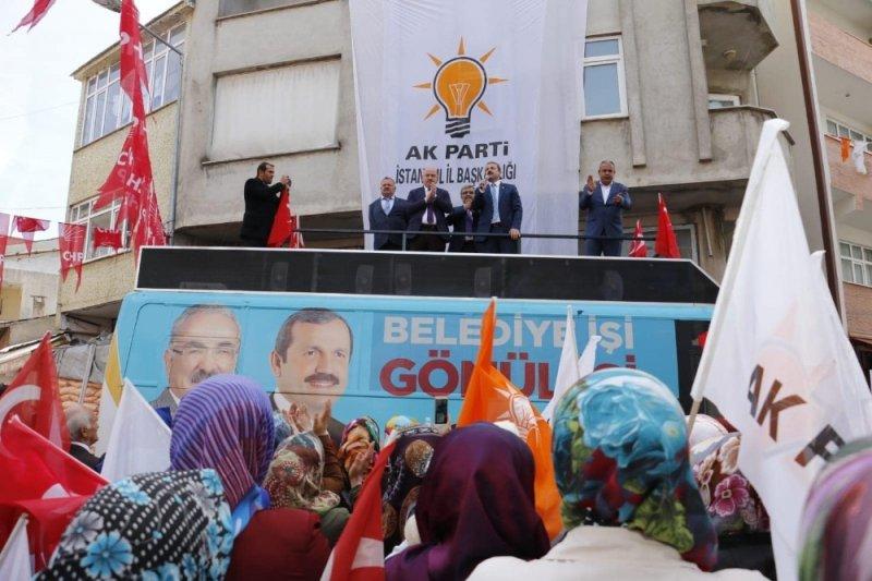 """Gündoğdu: """"AK Parti ve MHP, Anadolu insanlarının kurduğu iki partidir"""""""