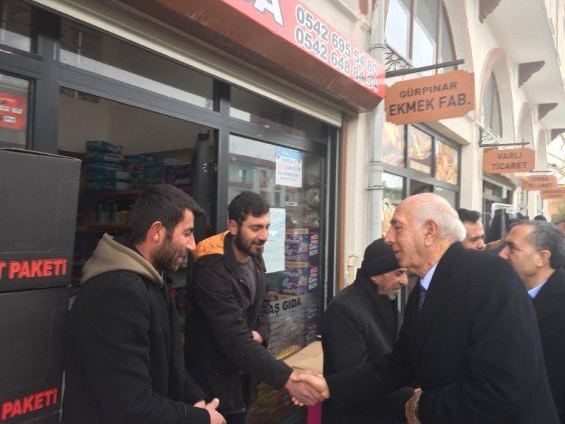 AK Parti'li İrfan Kartal'dan esnaf ziyareti